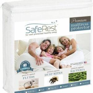 The Best Waterproof Mattress Protector Option: SafeRest Premium Waterproof Mattress Protector