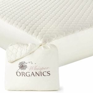 最佳防水床垫保护件选项:耳语有机物,100%有机床垫保护器