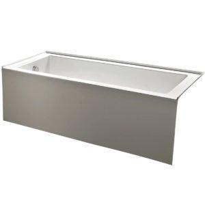 Best Bathtub Options: KINGSTON BRASS VTDE603122L 60-Inch
