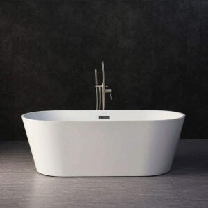 Best Bathtub Options: WOODBRIDGE BTA-1513 Acrylic Freestanding Bathtub