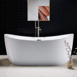 Best Bathtub Options: Woodbridge 71 x 31.5 Water Jetted