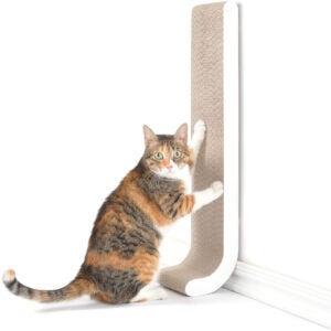 最佳猫抓岗位选项:4个墙壁安装刮柱