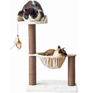 最好的猫抓岗位选择:猫,猫树吊床床