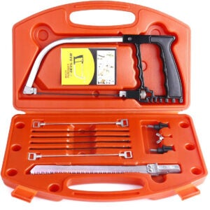 Best Coping Saw Options: 14 in 1 Universal Hand Saw Set Multifunctional Handsaw