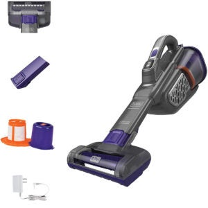 Best Cordless Vacuum Options: BLACK+DECKER dustbuster Handheld Vacuum for Pets