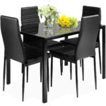 Best Dining Room Tables Options: Giantex 5 Piece Kitchen Dining Table Set