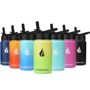 Best Insulated Water Bottle Options: HYDRO CELL Stainless Steel Water Bottle