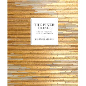 Best Interior Design Books Options: The Finer Things Timeless Furniture