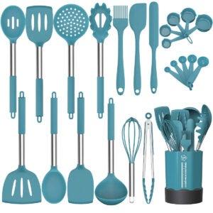 Best Kitchen Utensil Set Options: Silicone Cooking Utensil Set