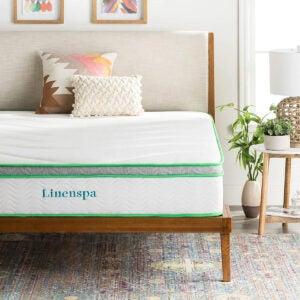 Best Mattress for Kids Options: LINENSPA 10 Inch Latex Hybrid Mattress
