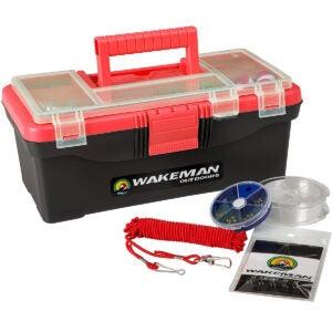 Best Tackle Box Options: Fishing Single Tray Tackle Box