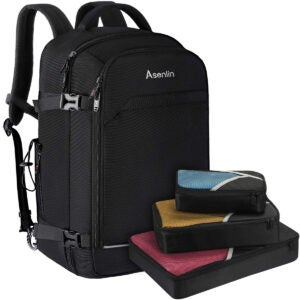 Best Travel Backpack Options: Asenlin 40L Travel Backpack