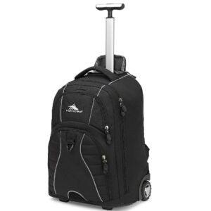 Best Travel Backpack Options: High Sierra Freewheel Wheeled Laptop Backpack