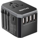 Best Travel Gadgets Options: EPICKA Universal Travel Adapter One