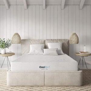 适合儿童最好的双床床垫选择:经典品牌酷凝胶记忆泡沫8英寸床垫