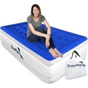 孩子Opti的最佳双床垫ons: EnerPlex Never-Leak Twin Air Mattress