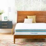 儿童最好的双床床垫选择:Linenspa 10英寸记忆泡沫