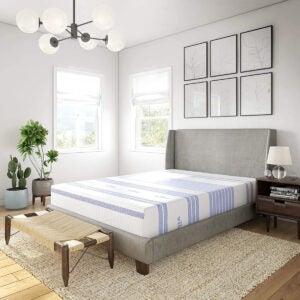 孩子Opti的最佳双床垫ons: Vibe Gel Memory Foam 12-Inch Mattress