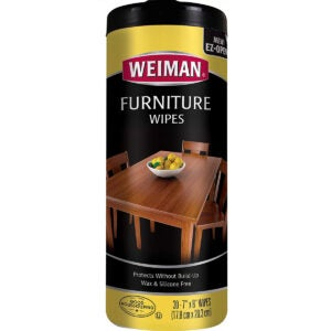 Best Wood Cleaner Options: Weiman Wood Cleaner and Polish Wipes