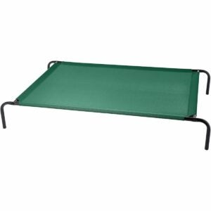 The Best Elevated Dog Bed Option: AmazonBasics Cooling Elevated Pet Bed