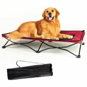 The Best Elevated Dog Bed Option: YEP HHO Large Elevated Folding Pet Bed