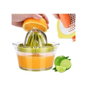 The Best Citrus Juicer Option: Drizom Citrus Juicer Manual Hand Squeezer 12OZ