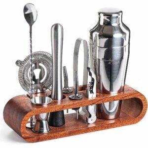 La meilleure option de shaker à cocktail: Mixology & Craft Mixology Bartender Kit 10 pièces