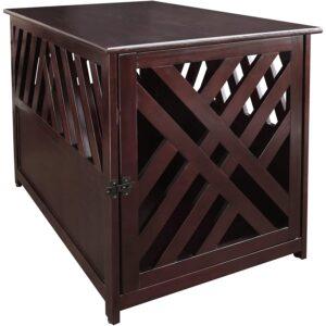 最好的狗箱选项:休闲家居木宠物箱