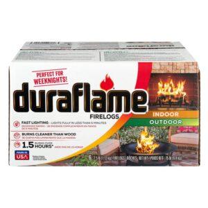 The Best Fire Logs Options: Duraflame 2.5 lb 1.5-hr Firelog (6 pack)
