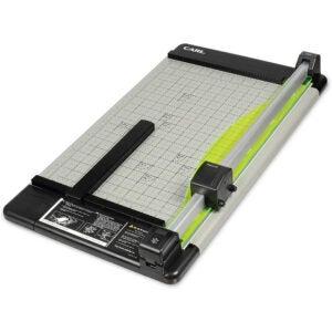 The Best Paper Cutter Option: CARL Heavy Duty Rotary Paper Trimmer