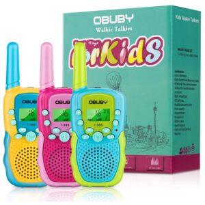 孩子们最好的拐杖谈话Option: Obuby Toys Walkie Talkies for Kids