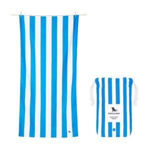 The Best Beach Towel Option: Dock & Bay Lightweight Beach Towel for Travel