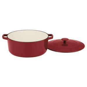 La meilleure option de plat de casserole: la casserole classique en fonte de 7 pintes du chef de Cuisinart