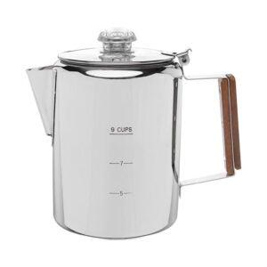 The Best Coffee Percolator Option: COLETTI Bozeman Coffee Percolator 9 CUP