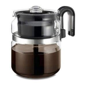 The Best Coffee Percolator Option: Café Brew Stovetop Glass Percolator 8 Cup