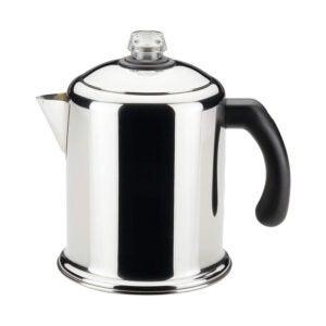The Best Coffee Percolator Option: Farberware Yosemite Stainless Steel Percolator 8 Cup
