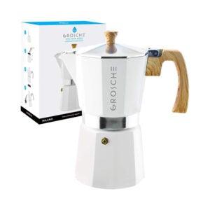 The Best Coffee Percolator Option: GROSCHE Milano Stovetop Espresso Maker Moka Pot