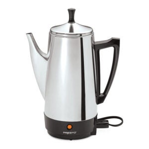 The Best Coffee Percolator Option: Presto 12-Cup Stainless Steel Coffee Maker