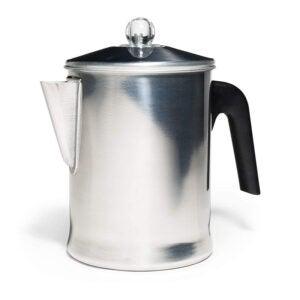 The Best Coffee Percolator Option: Primula Today Aluminum Stove Top Percolator 9 Cup
