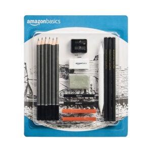 最好的绘图铅笔选项:亚马逊基础知识素描和绘图艺术铅笔套件