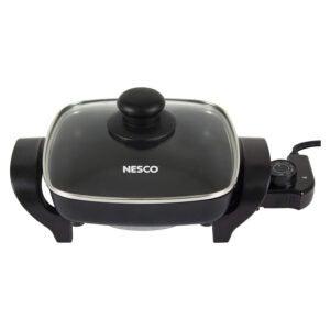 The Best Electric Skillet Option: Nesco, Black, ES-08, Electric Skillet, 8 inch