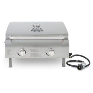 The Best Gas Grill Option: Pit Boss Grills Stainless Steel Portable Grill