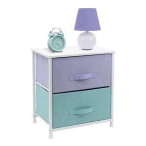 The Best Nightstand Option: Sorbus Nightstand with 2 Drawers
