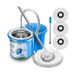 The Best Spin Mop Option: Aootek Upgraded Stainless Steel Deluxe 360 Spin Mop