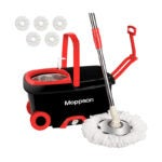 The Best Spin Mop Option: Moppson Spin Mop and Bucket Floor Cleaning System