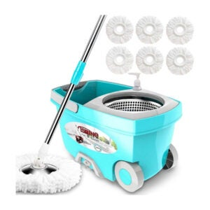 The Best Spin Mop Option: Tsmine Spin Mop Bucket System