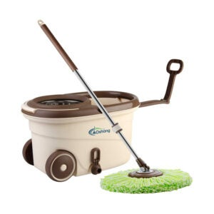 The Best Spin Mop Option: oshang EasyWring Spin Mop and Bucket