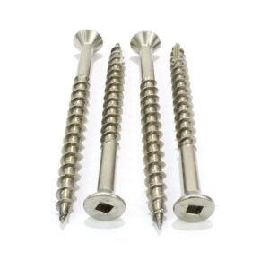 最好的木螺钉选项:螺栓滴剂#8 x 1-1 4不锈钢甲板螺钉