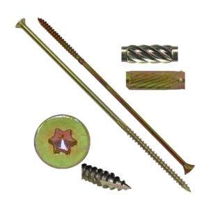 最好的木螺钉选项:杰克销售#14x8金星木螺钉