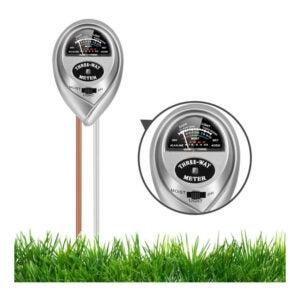 The Best pH Meter Option: HiLandy Soil pH Meter 3-in-1 Soil Tester